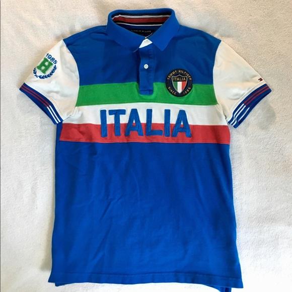 Tommy Hilfiger Italia Blue Polo Shirt